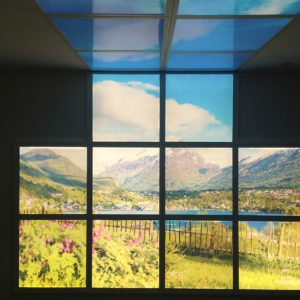 Wall picture panels