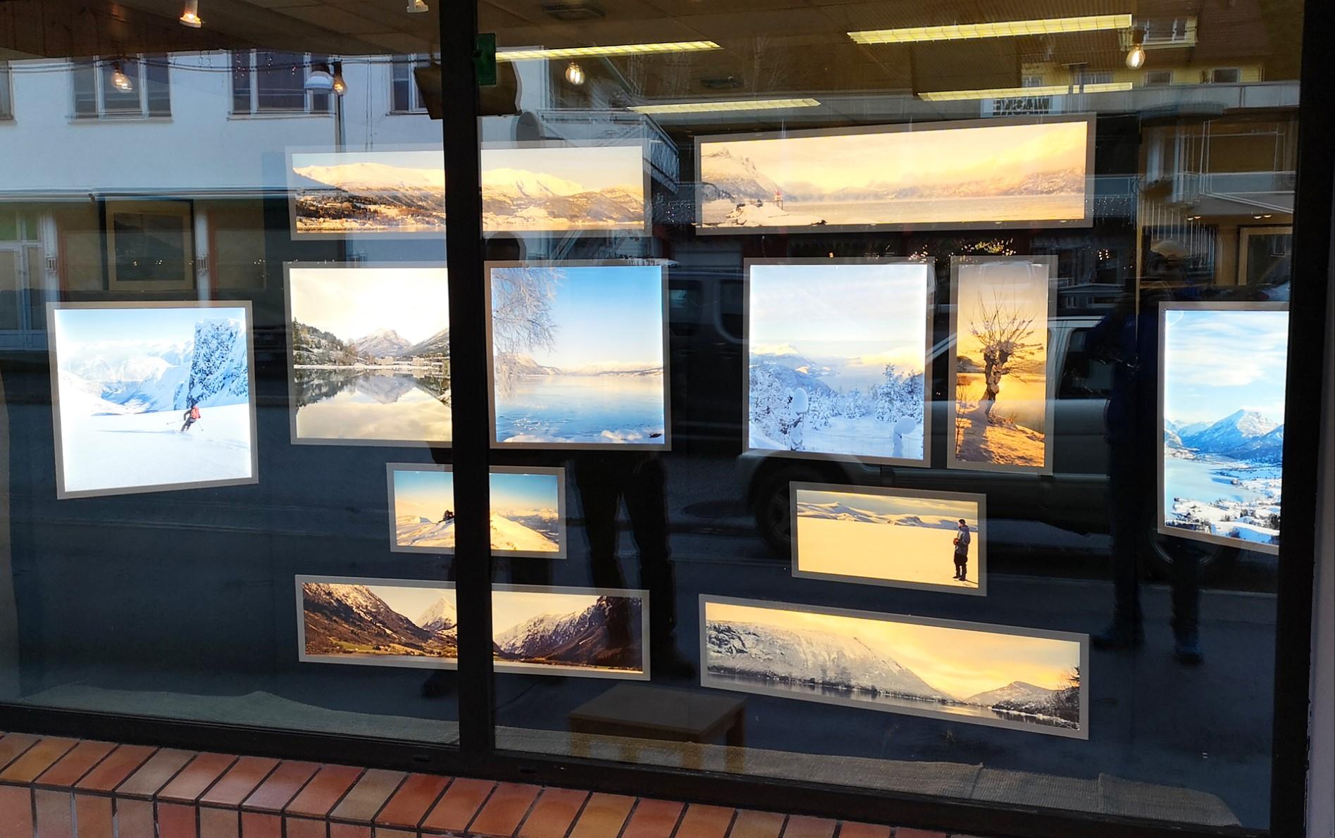 Photostore window panels